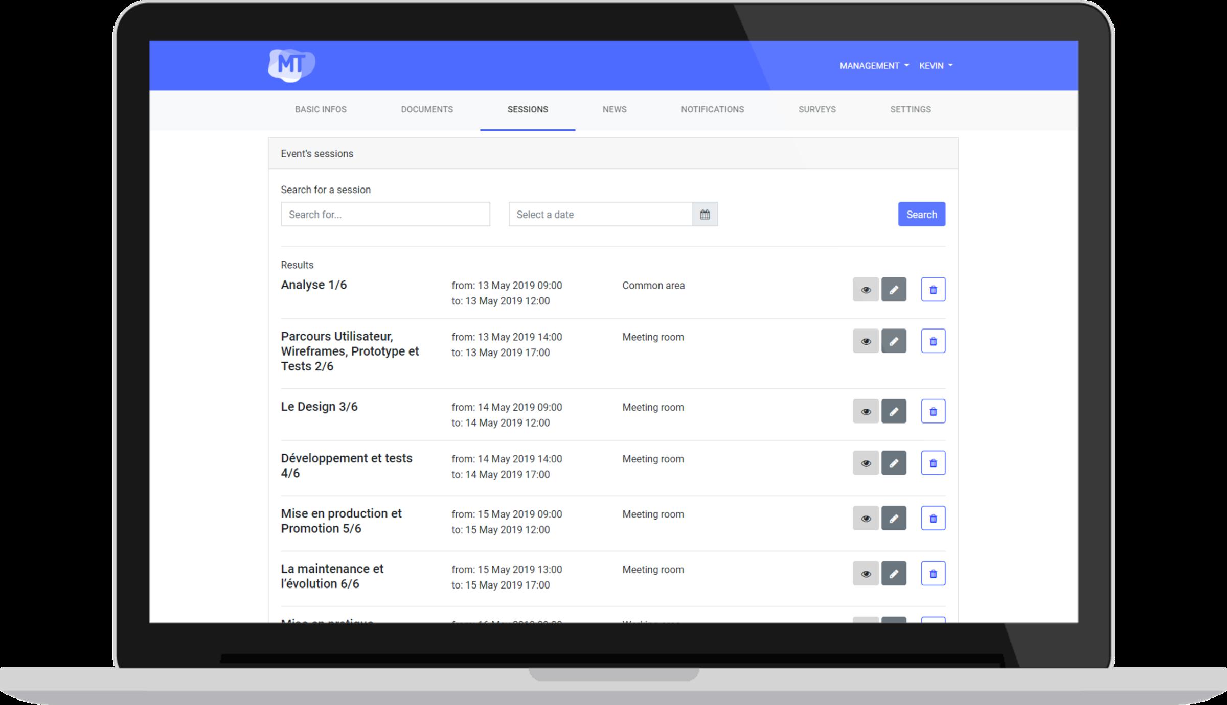 Agenda - Un écosystème complet pour la gestion et diffusion de vos événements professionnels